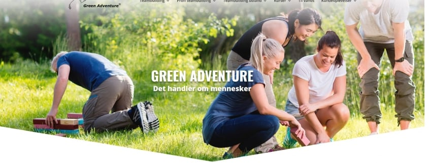 Green Adventure - Arrangementer i topklasse med Green Adventure - WPIndex.dk
