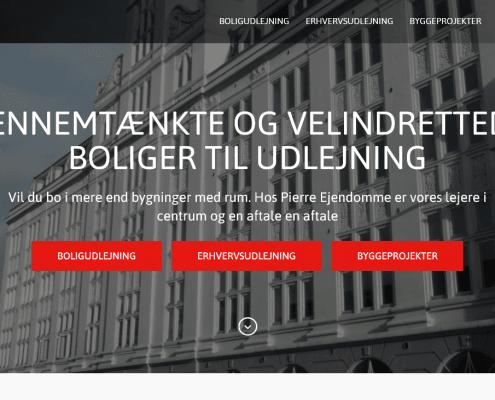 PIERRE EJENDOMME - Vi udlejer til private og erhverv - WPIndex.dk