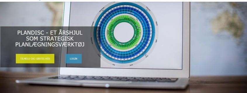 Plandisc - Et årshjul som strategisk planlægningsværktøj - WPIndex.dk