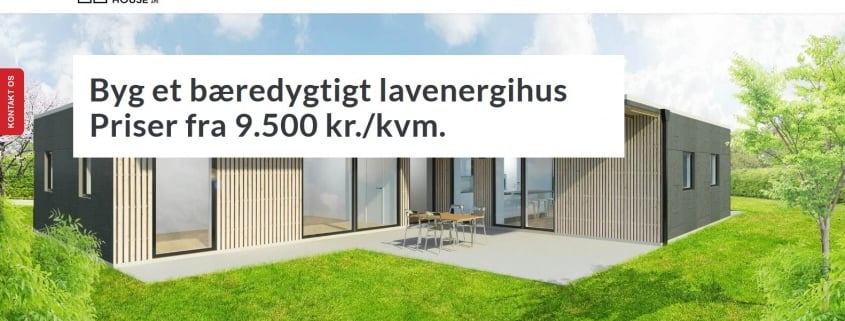 Bygge nyt hus - Byg et containerhus - Danish Container House