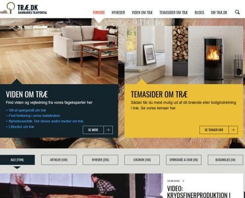 Træ.dk - Viden og inspiration om træ - Danmarks Træportal - WPIndex.dk