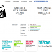JOBSCENEN Jobs Job WordPress Website WPIndex dk