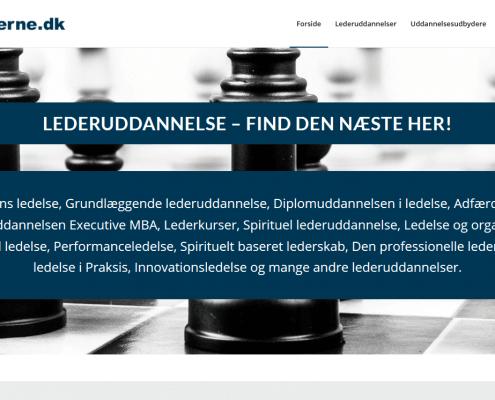 Lederuddannelse - find den næste her - Uddannelsesudbydere fra DK - WordPress - WPIndex.dk
