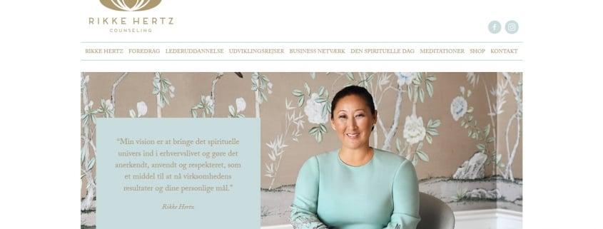 Rikke Hertz Counseling - WPIndex.dk
