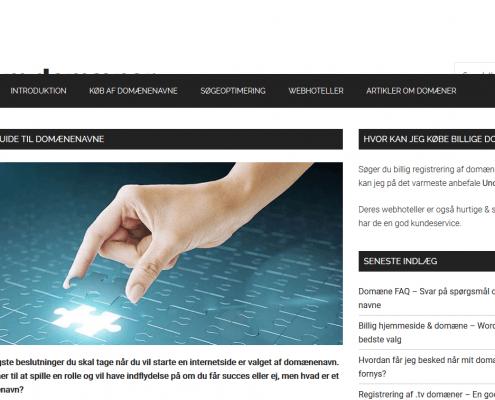 Vælg det rigtige domænenavn til din hjemmeside - Alt om domæner - WordPress - WPIndex.dk