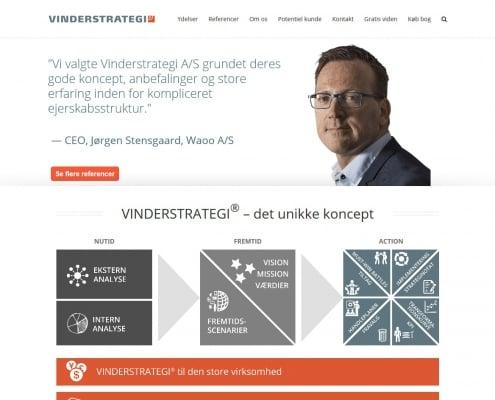 Vinderstrategi A S tilbyder strategisk raadgivning og sparring Hovedstaden Koebenhavn WordPress Website WPIndex dk