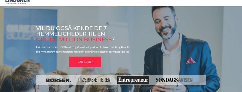 Laer at lave online produkter og services Rasmus Lindgren WordPress Website WPIndex dk