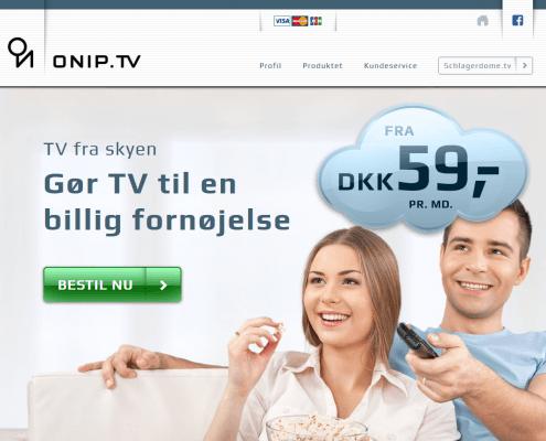 ONIP TV Aarhus Midtjylland WordPress Webshop WPIndex dk