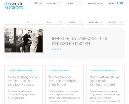 Den Sociale Kapitalfond Koebenhavn Hovedstaden WordPress Website WPIndex dk