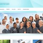 Forside Tandlaegerne Oestergaard Pade og Hovmoeller Herning Midtjylland WordPress Website WPIndex dk