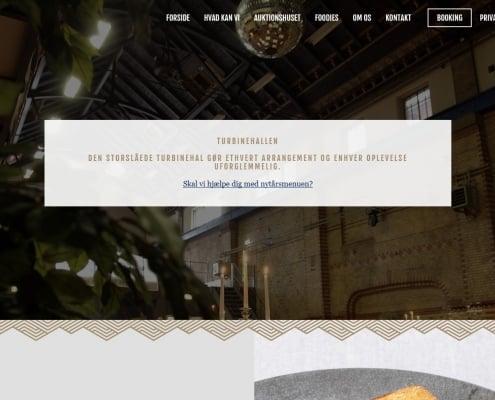 Turbinehallen Aarhus Midtjylland WordPress Website WPIndex dk