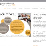 Foreningen af Danske Psykoterapeuter Viby WordPress Website WPIndex dk