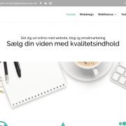 Online content marketing Moderne website med personlighed WordPress Website WPIndex dk