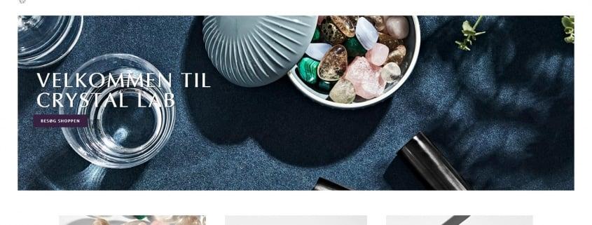 Krystaller Eliksirer Smykker CrystalLab WordPress Website WPIndex dk