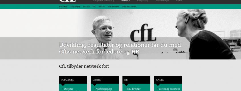 Netvaerk Bliv en del af CfLs professionelle netvaerk WordPress Website WPIndex dk