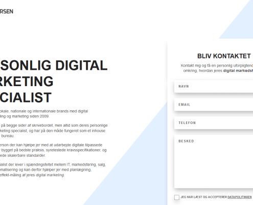 Digital marketing bureau Din no1 go to digitale specialist WordPress Website WPindex dk
