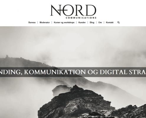 Kreativ digital kommunikation indhold og branding N ORD WordPress Website WPIndex dk
